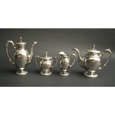 Servizio da te e caffè in argento