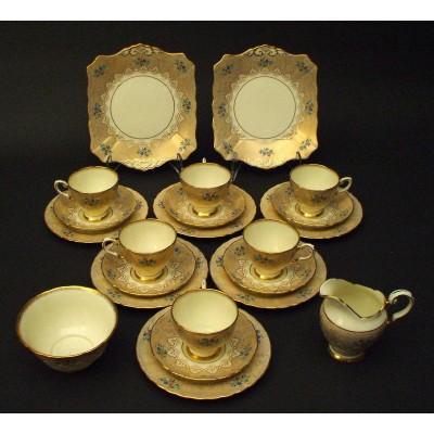 Servizio da TEA in oro zecchino