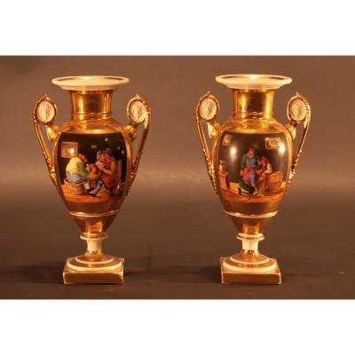 Coppia di vasi Impero - da definire - n.1