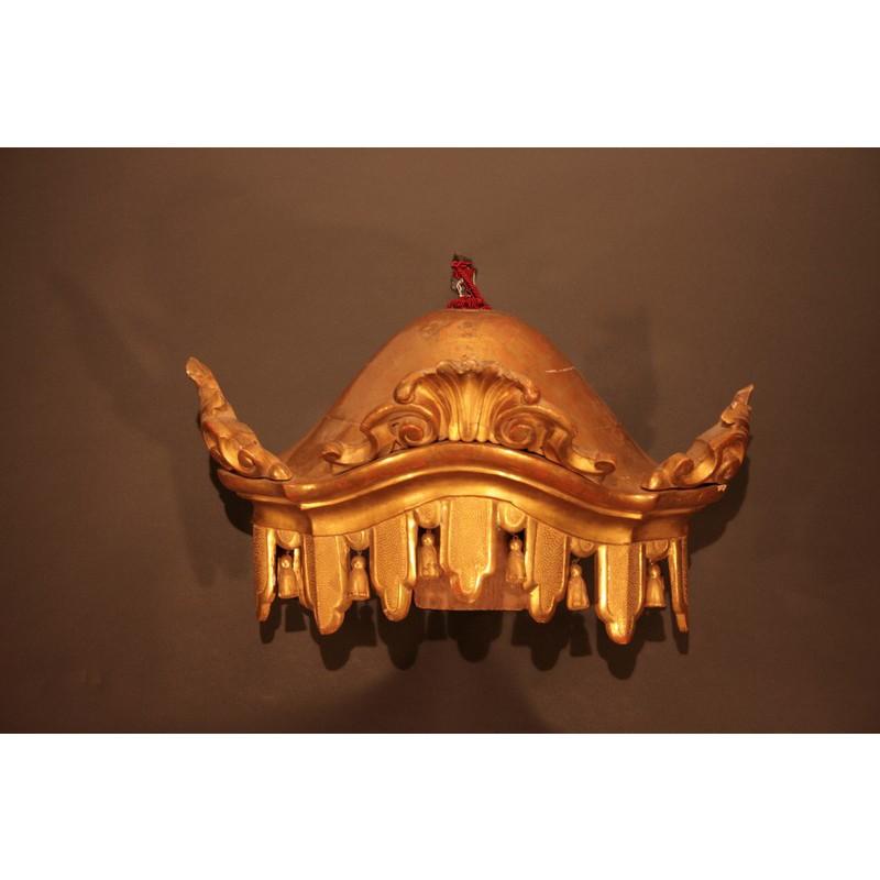 Corona per letto a baldacchino galleria sant 39 emiliano - Struttura per letto a baldacchino ...
