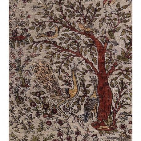 Tappeto in seta oro - Hereke